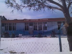 Το παλιό κτίριο του 2ου Δημοτικού Σχολείου Λεχαινών