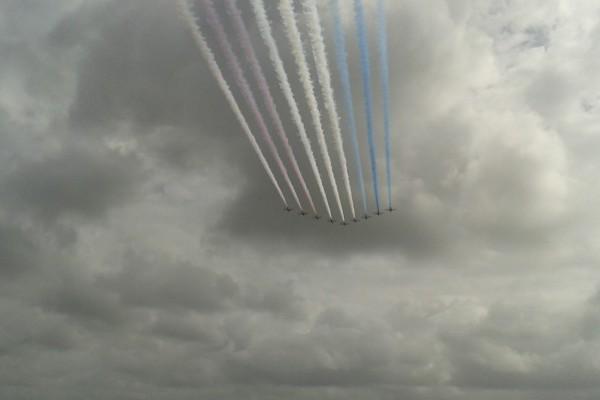 Τα Red Arrows στο Πολεμικό Αεροδρόμιο  της Ανδραβίδας Ηλείας